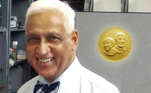 Chandra Kumar Naranbhai Patel (born July 2, 1938) is an #IndianAmerican scientist that developed the carbon dioxide laser. His invention is now widely used in industry for cutting and welding, as a laser scalpel in surgery, laser skin resurfacing, and even for military range finding.