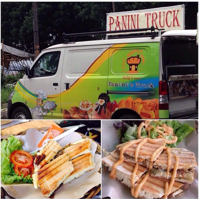 Get struck ⚡️ by the deliciousness of this panini from @paninitruck. Location: Bandung