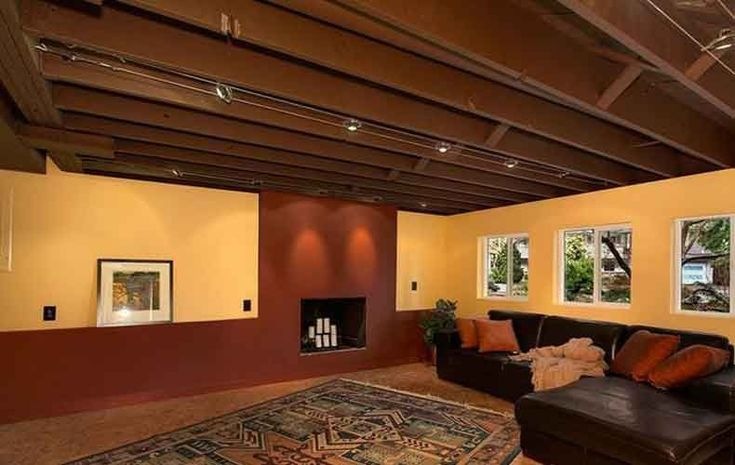 Unfinished Basement Ideas. Tags: On A Budget, DIY, Cheap ...