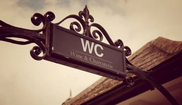 WC Wine & Charcuterie Bar 100 Year Old Public Toilet Turns Wine Bar