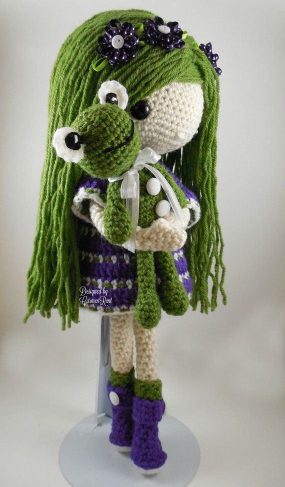 November Amigurumi Doll Crochet Pattern by CarmenRent on Etsy