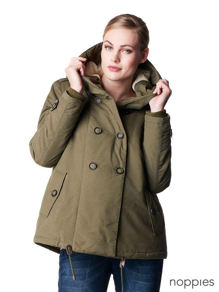 Winter coat Abby  |  Noppies Maternity Winter Jackets Fall|Winter 2015 collection  |  #noppies #winter #jackets #winterjacket #wintercoat #maternity #pregnant #zwanger #fw15  |  www.noppies.com