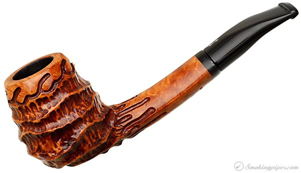 Nording Carved Bent Brandy (304) Pipes at Smoking Pipes .com