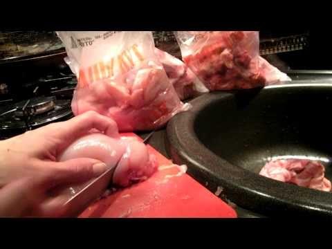 Закупка мяса птицы. Разделка. Полуфабрикаты для семьи из 4-х человек