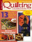 Quilting Celebrations magazine and show DVD