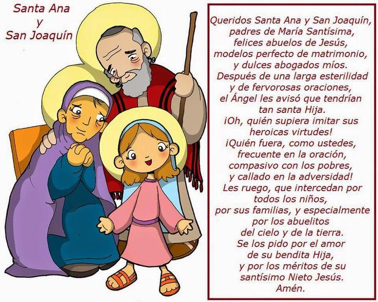 Gifs de oraciones: Oraciones a San Joaquín y Santa Ana