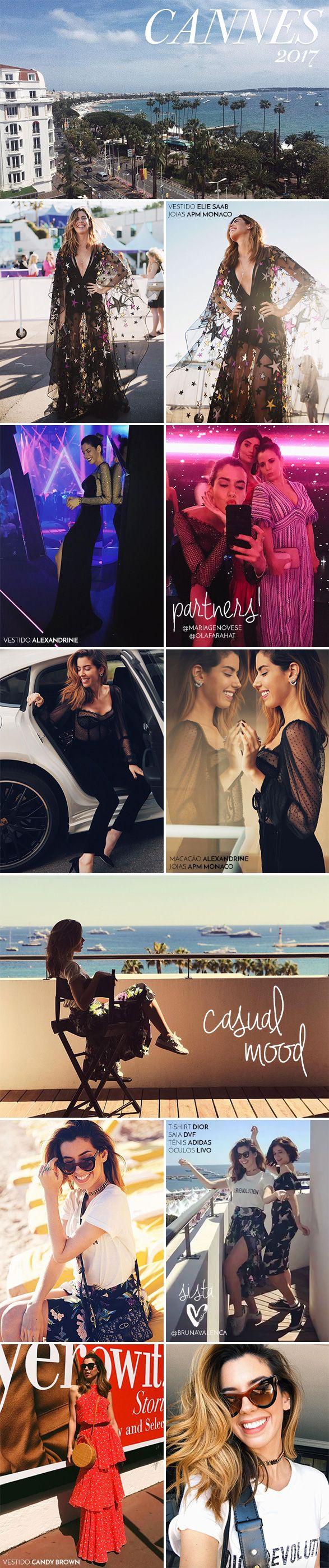 Looks de Camila Coutinho em Cannes, saiba tudo e inpire-se nos looks para diversas ocasiões, desde casual até a festa