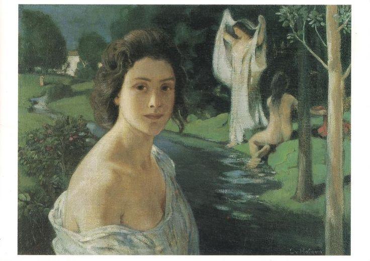 Ludwig Von Hofmann: Notturno (späte 90er jahre) - Neue Pinakothek Bayerische Staatsgemäldesammlungen München