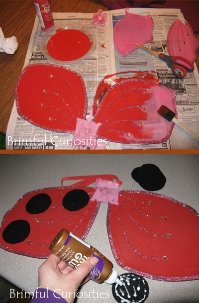 Brimful Curiosities: How to Make a Ladybug Girl Costume