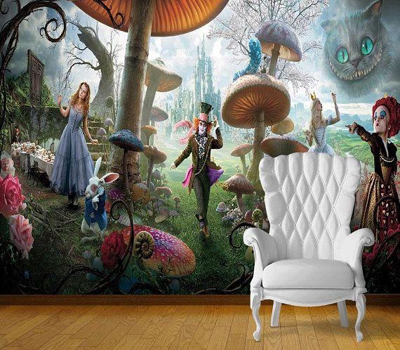 мебель алиса в стране чудес фото
