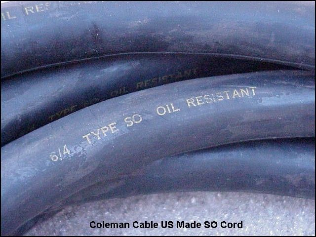 Coleman Cable Welding Cable