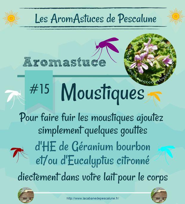 Petite #AromAstuce anti-moustique cette semaine ! ► http://ow.ly/PdghT