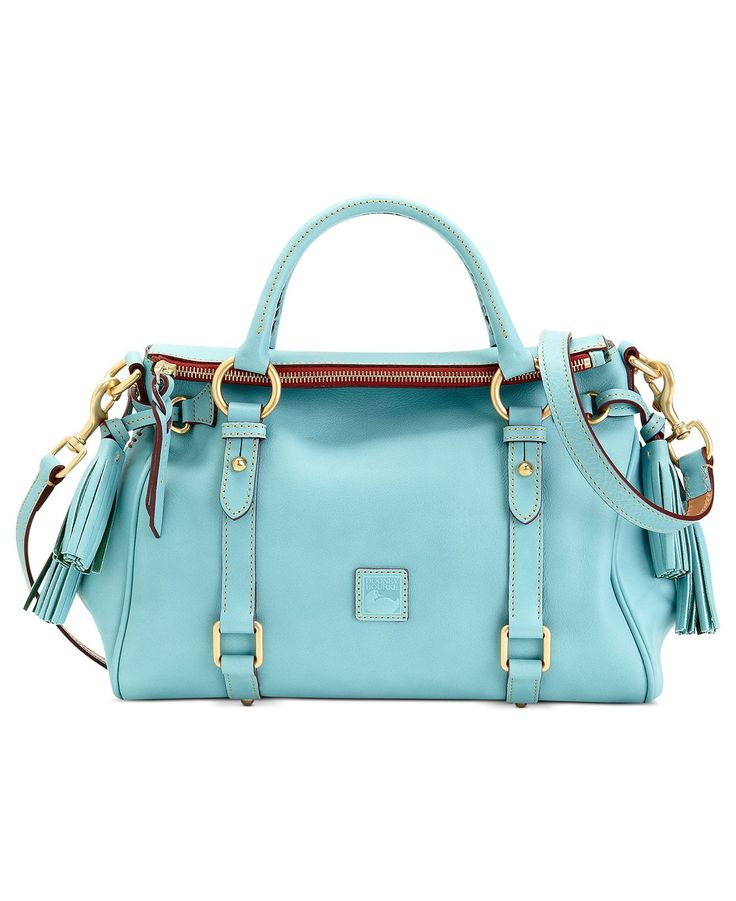 Dooney & Bourke Handbag, Florentine Vachetta Small Satchel - love this in this color