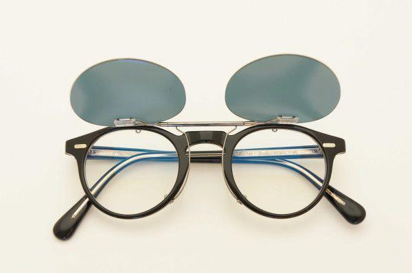 OLIVER PEOPLES オリバーピープルズ Gergory Peck(グレゴリー・ペック)  Original Clip-on sunglass   ponmegane