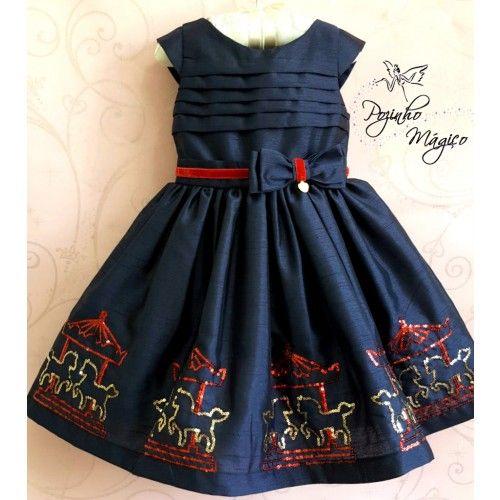 Vestido de menina • Pozinho Mágico