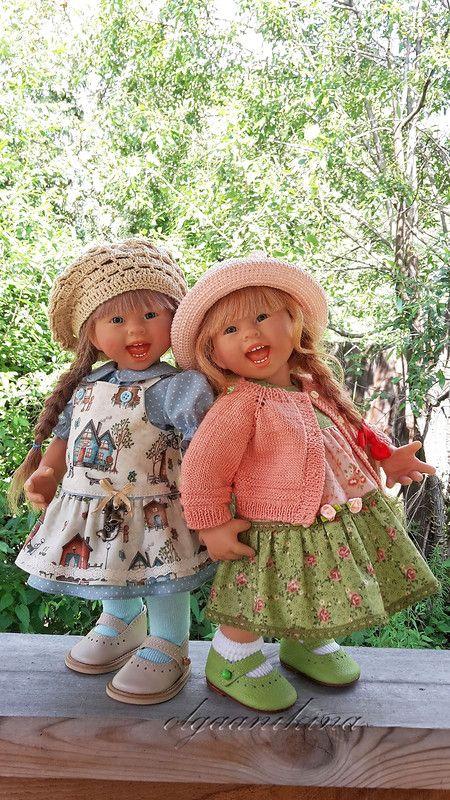 Умножить на два! Близнецы от Rosemarie Anna Muller- часть 1. / Коллекционные куклы Rosemarie Anna Muller / Бэйбики. Куклы фото. Одежда для кукол