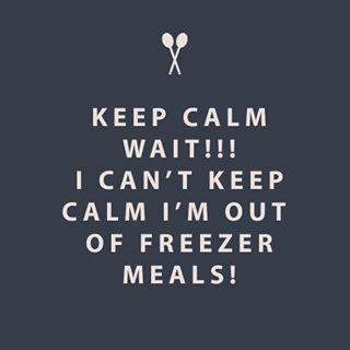 No worries. If you follow my ebook you will soon have 32 meals stocked in your freezer. http://www.essentiallyorganizedlife.com/ebooks/ #freezermeals101 #freezermeals #healthymeals #healthyeating #essentiallyorganized