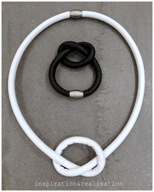 DIY MM6 leather knot