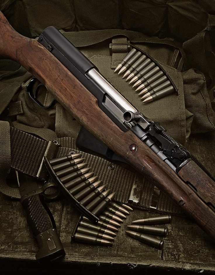 Russian SKS - 7.62x39mm Semi automatic rifle.  [I would love to own this weapon someday]
