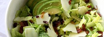 of Perry's Plate} Avocado and Bacon Salad with Avocado Dressing ...