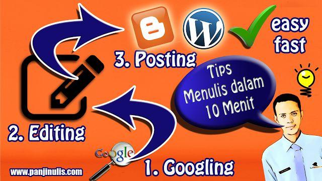 Situs Resmi Panji Nulis: Tips Menulis dalam 10 Menit