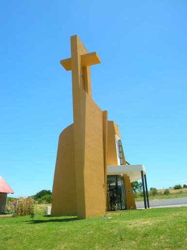Catholic Church, Colonia, Uruguay (Lambrechts-Bertinat Architects, 2006). Image Credit: World Architecture News. More info: http://www.worldarchitecturenews.com/index.php?fuseaction=wanappln.projectview&upload_id=1302