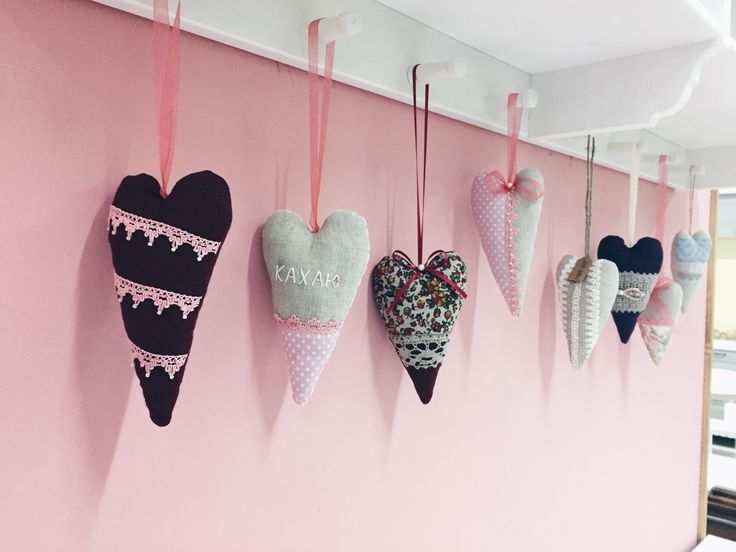 Hearts handmade by Vitalina Yazykova