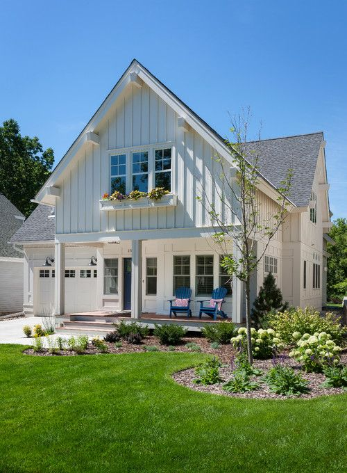 25 best ideas about board and batten siding on pinterest for Farmhouse style siding