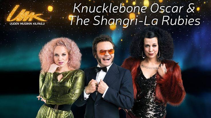 "UMK17 // KNUCKLEBONE OSCAR & THE SHANGRI-LA RUBIES:  ""Caveman"" (Lyric Video)  Pure Eurovision madness!!!"