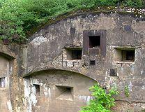 Gun Ports Kaiser Wilhelm Fort de Mutzig, Alsace France