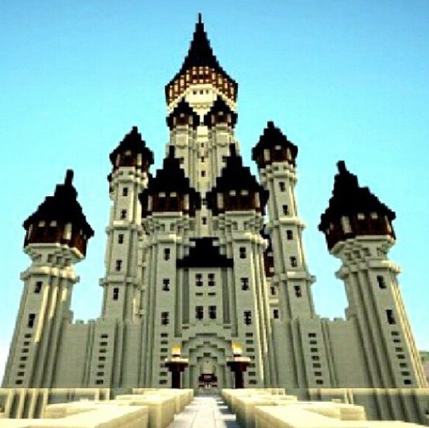 4 Easy Ways to Make a Castle in Minecraft (with Pictures)
