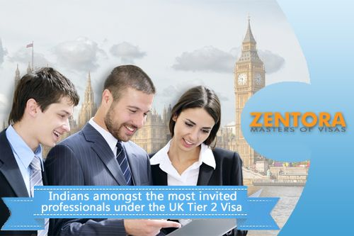 Indians amongst the most invited professionals under the UK Tier 2 Visa