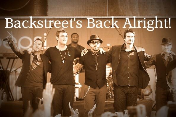 Backstreet back lyrics