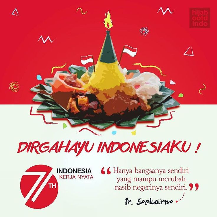 Me x @hijabootdindo mengucapkan Dirgahayu Indonesia ke-71th.  Indonesian Independence Day!