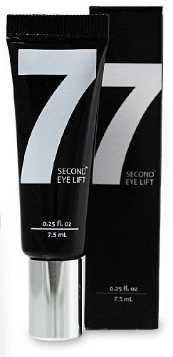 7 Second Eye Lift - Under Eye Cream - Best Eye Cream - Anti wrinkle eye lift cream to reduce the signs of aging by 7 Second Eye Lift. $24.95. Tighter, with Less Puffiness, Noticeably Lighter, Smoother, Younger Looking Skin. Amazing Instant Results. Powerful Clinically Proven and Patented Peptides. Reduce The Signs Of Aging Around The Eyes. Proven Age-Fighting Ingredients. 7 Second Eye Lift's Powerful Ingredients End the Waiting Game! No other product available has ever been abl...