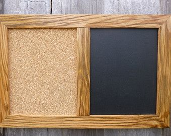 Reclaimed Wood Wall Decor | ... CORK and MAGNET BLACKBOARD handcrafted of Antique Barn Wood Wall Decor