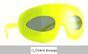 Zorro Retro Sunglasses - 365 Yellow
