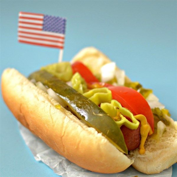 """Chicago-Style Hot Dog 