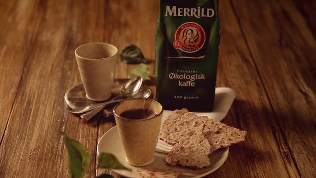 Merrild-Økologisk by Skovdal & Skovdal. Coffee