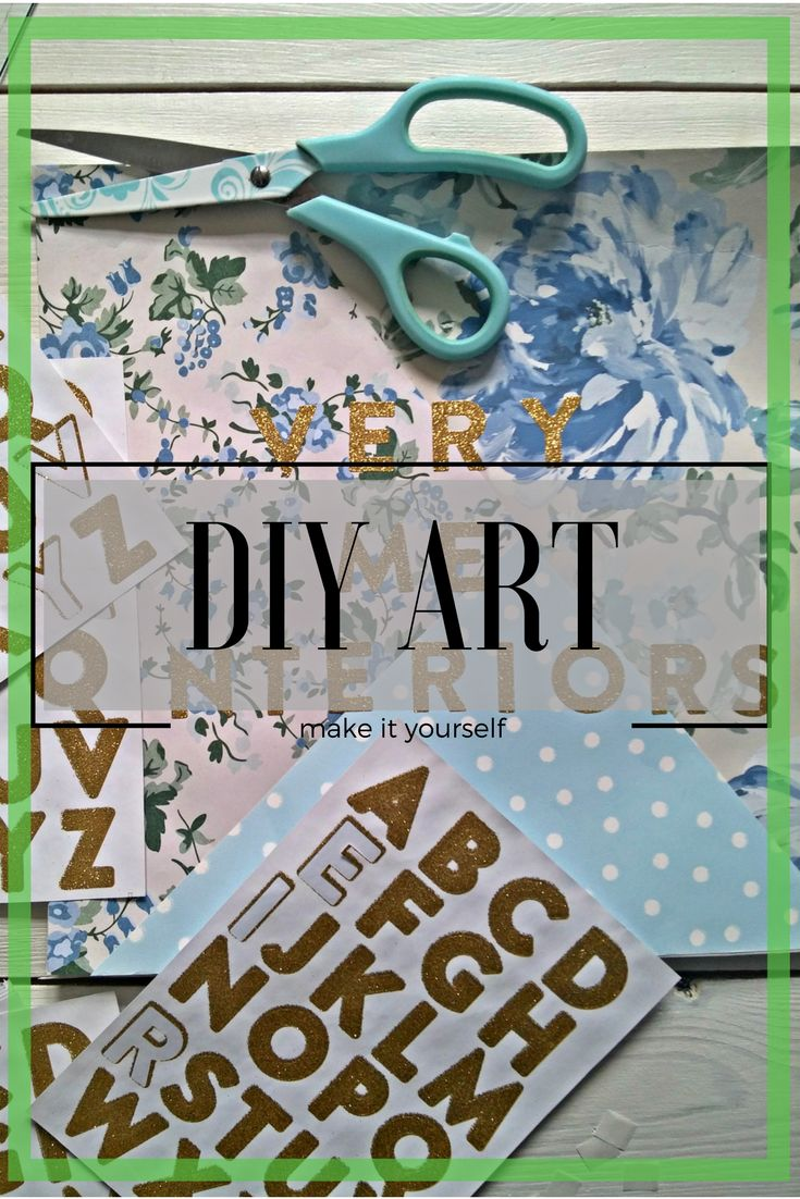 How to make your very own DIY art with free wallpaper samples, decorate your house for free
