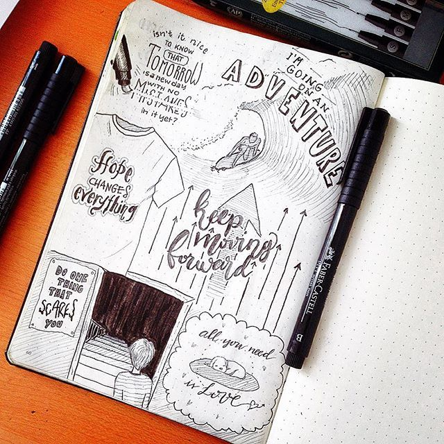 Another part of #letteritjune in my bulletjournal.