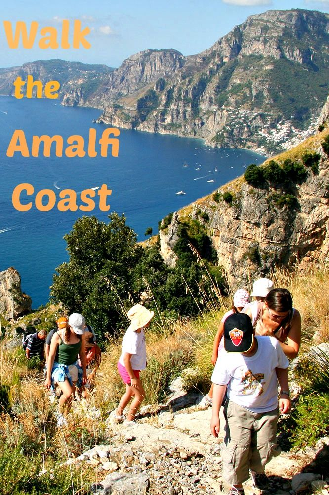 Walk the Amalfi Coast with PositanoFrank Carpegna Walk of the Gods. #Italy #walking #travel #Amalficoast