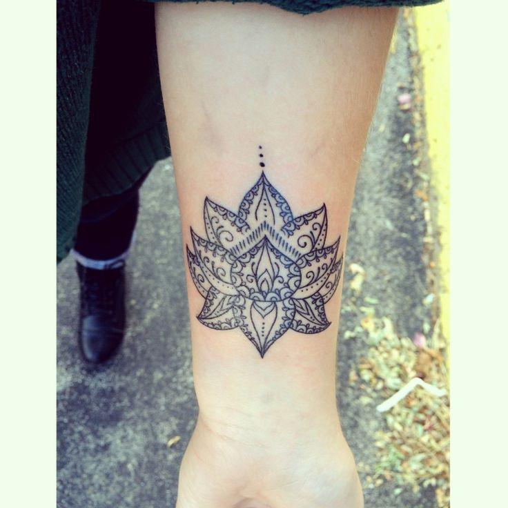 Lotus Flower Arm Tattoo... - Tattoo Designs
