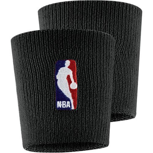 Nike Men's NBA Basketball Wristband Black - Basketball Accessories at Academy Sports
