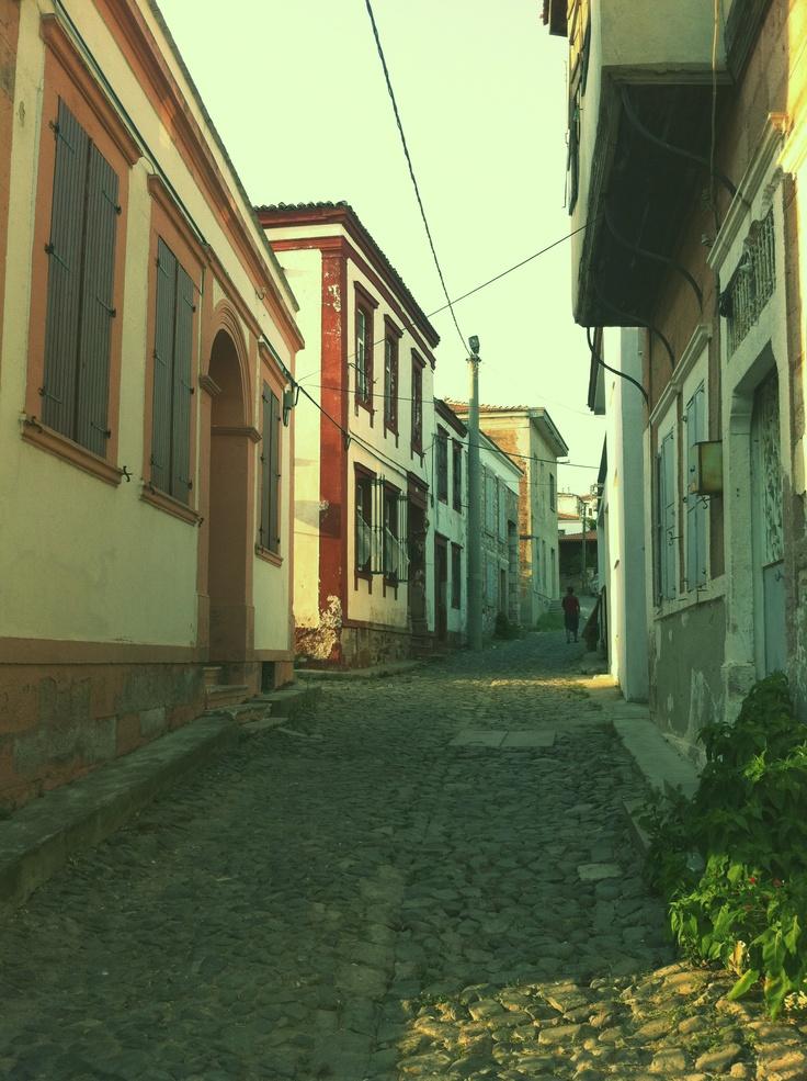 Cunda Island Street.