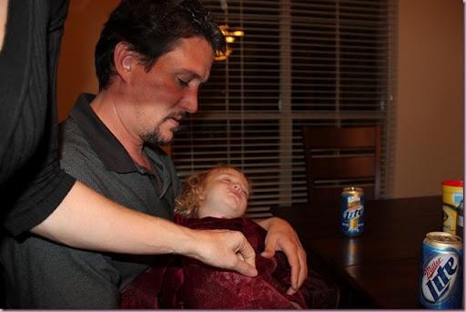 Have fun family poker night