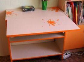 Вторая жизнь письменного стола   Ярмарка Мастеров - ручная работа, handmade