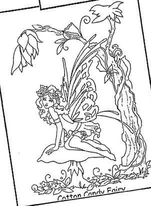 candy fairies coloring pages coloring pages. Black Bedroom Furniture Sets. Home Design Ideas