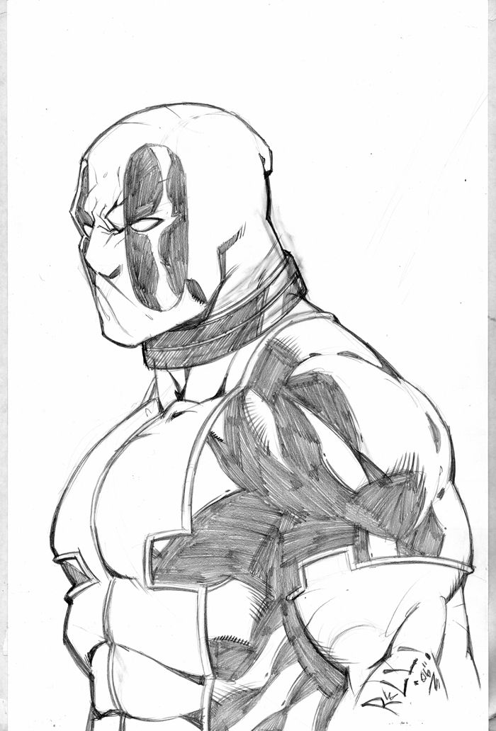 Deadpool sketch Sketches, Black widow drawing, Easy drawings