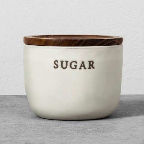 Magnolia Stoneware Sugar Cellar - Cream #ad #commissionlink
